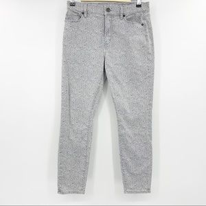 Loft Periwinkle Brown Modern Skinny Ankle Jeans 4P